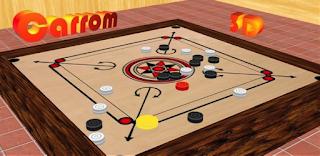 Happy Holi 2017 Carrom Board Game Inside.