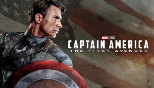 Captain America First Avenger Disney Plus Logo