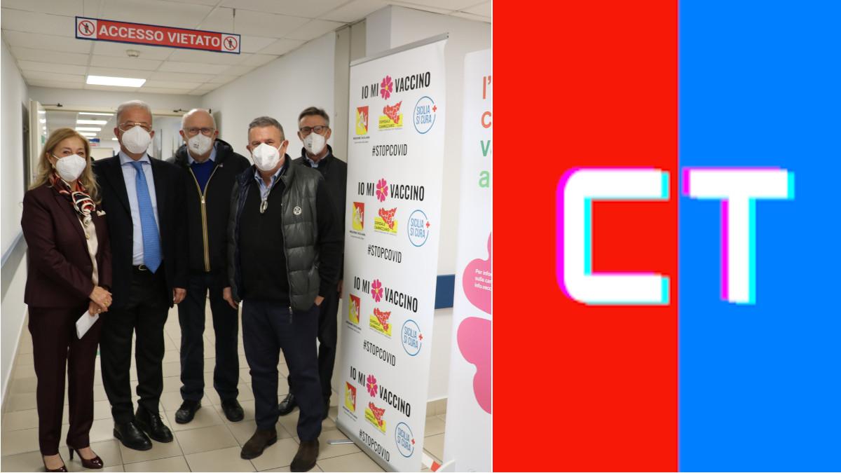 Vaccinazione anti Covid Ospedale Cannizzaro