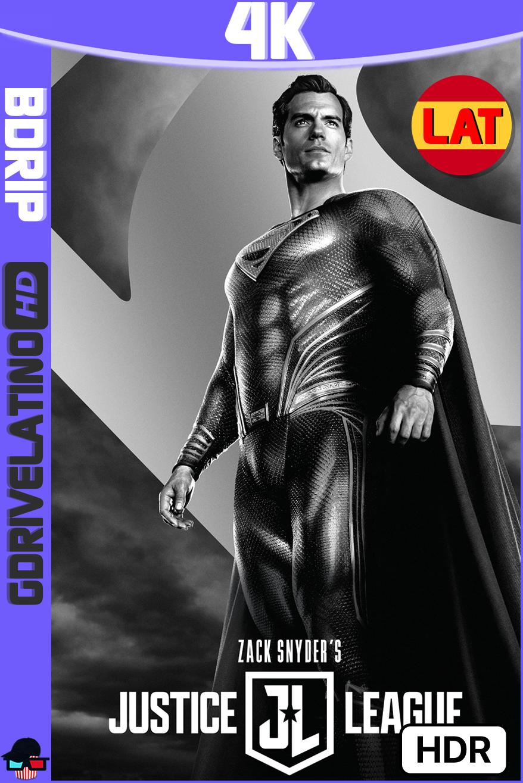 La Liga de la Justicia de Zack Snyder (2021) BDRip 4K HDR Latino-Ingles MKV