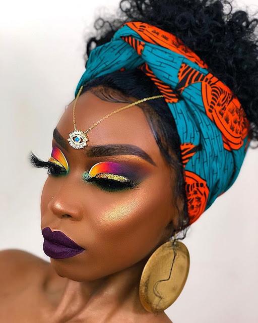 2019 Latest and Beautiful Ankara Headwrap Styles