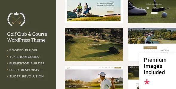 Best Golf Club Responsive WordPress Theme