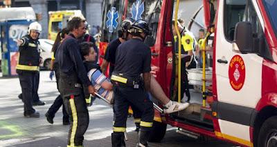 Muere sospechoso de atentado cuando intentaba huir de Barcelona