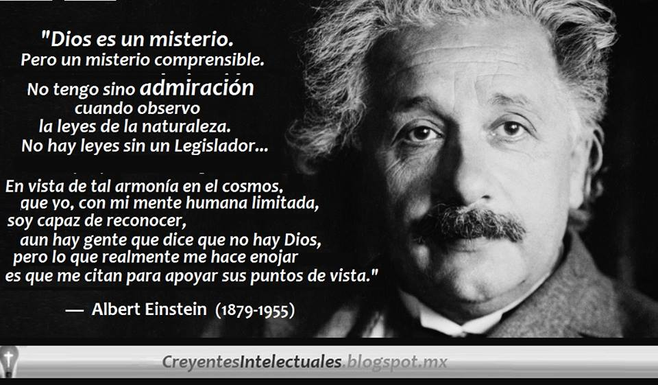 Creyentes Intelectuales Einstein El Creyente Dios No