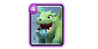 Kartu Baby Dragon Clash Royale