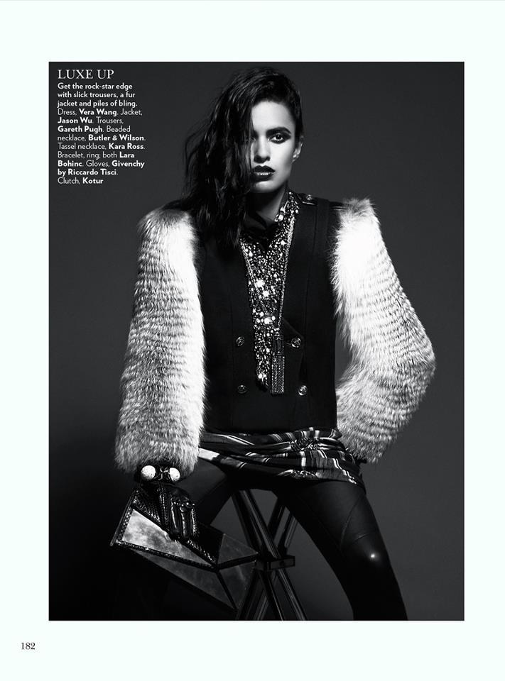 Asian Models Blog Editorial Lakshmi Menon In Vogue India