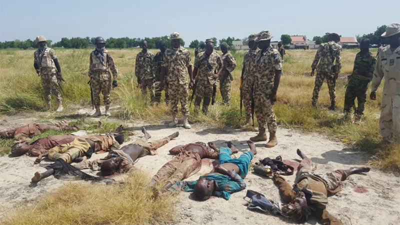 Nigerian Army kills 22 Boko Haram fighters in Borno State