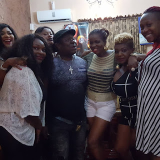 NOLLYWOOD ACTOR MR IBU CELEBRATES BIRTHDAY IN A FUNNY WAY (SEE PHOTOS)