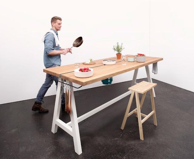 29 Desain Meja Dapur Minimalis Sederhana Terbaru 2019