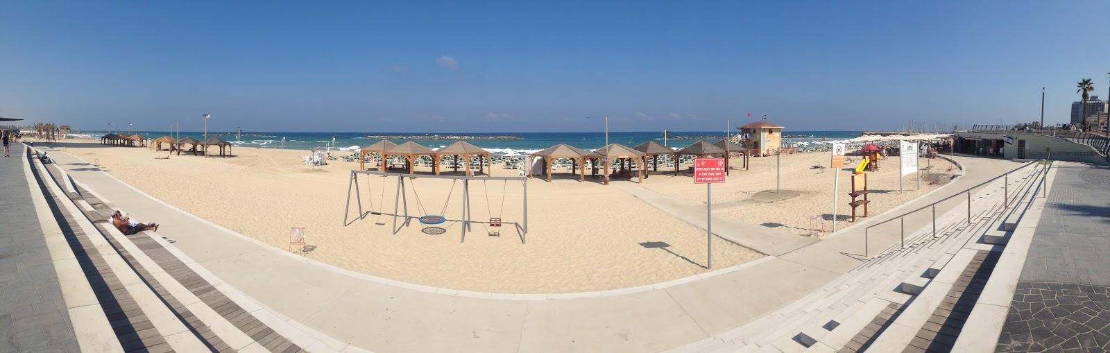 pláž v Tel Avivu panorama