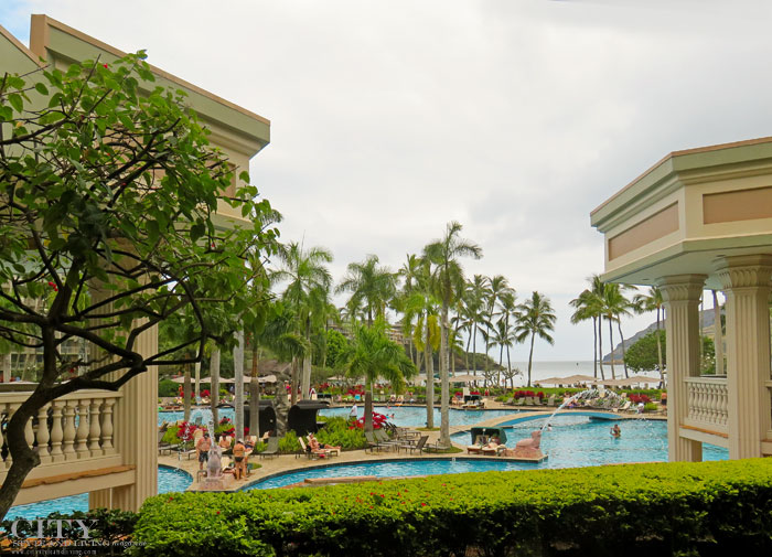 bcb2af86 Near the airport, the Kauaʻi Marriott Resort is an oasis within an oasis,  with one of the largest family friendly pools in Hawaii.