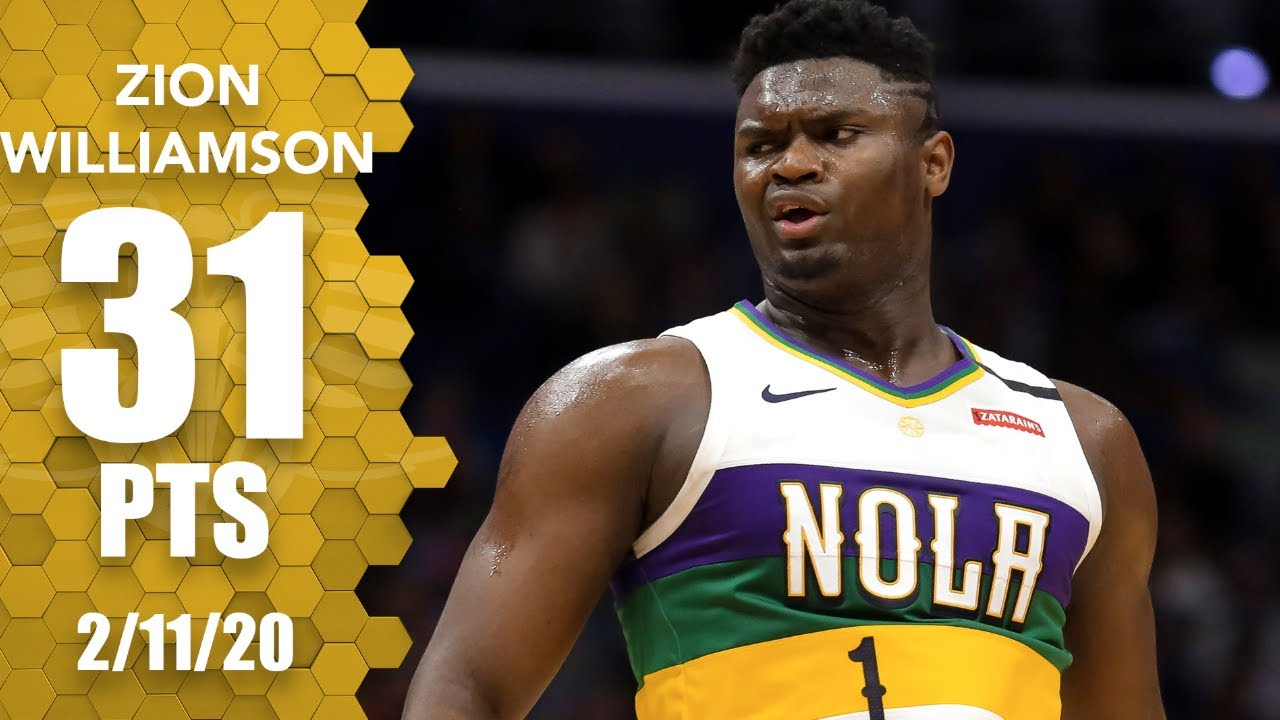 Zion Williamson 31pts 9reb 5ast vs POR | February 11, 2020 | 2019-20 NBA Season