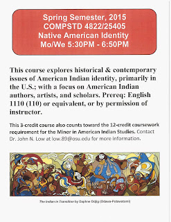 Native American Identity Dr. John Low Flyer