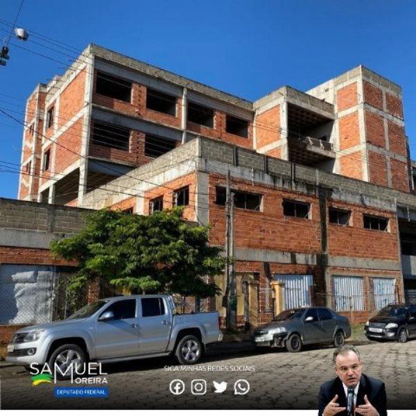 Ampliação do hospital de Pariquera dá mais um passo