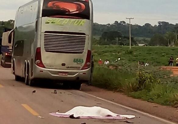 Acidente com ônibus da Eucatur deixa dois mortos em distrito de Porto Velho
