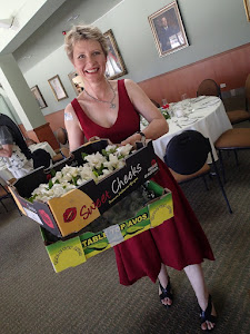 Mish at her folks' 65th wedding anniversary party