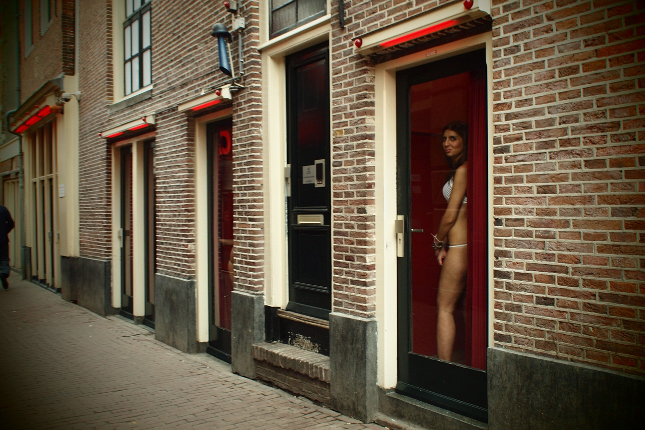 Amsterdam red light district qampa from my weekend trip 9