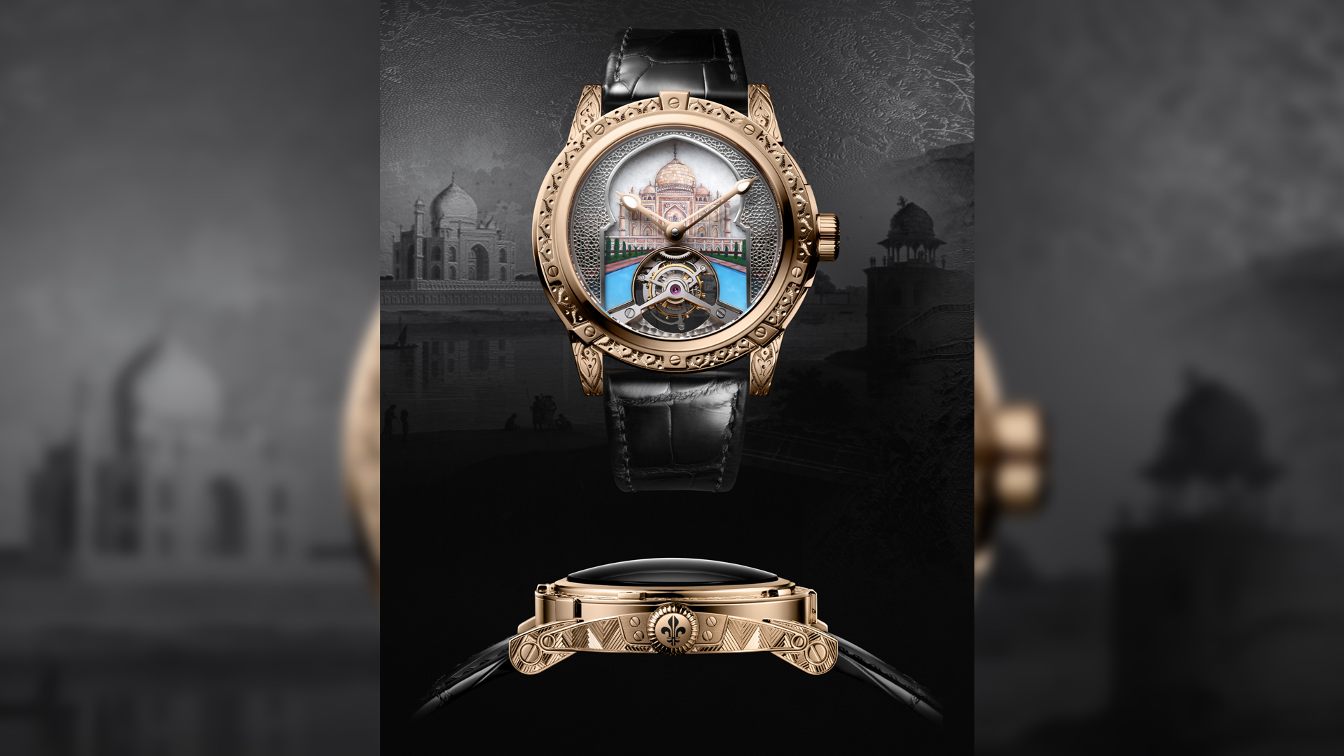 Louis Moinet pays tribute to eight marvels of the world in eight distinct timepieces