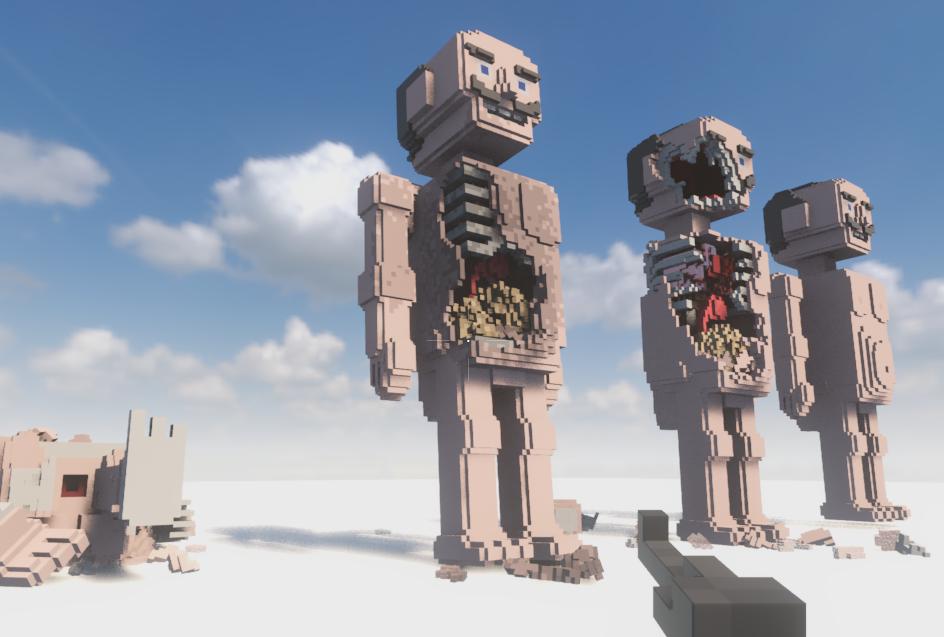 Teardown: Giant multi-layered statues Mods