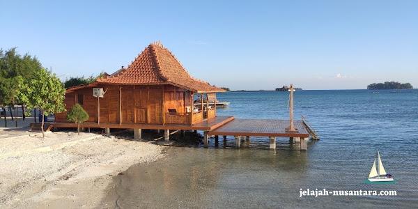 fasilitas dan akomodasi wisata royal island resort pulau kelapa