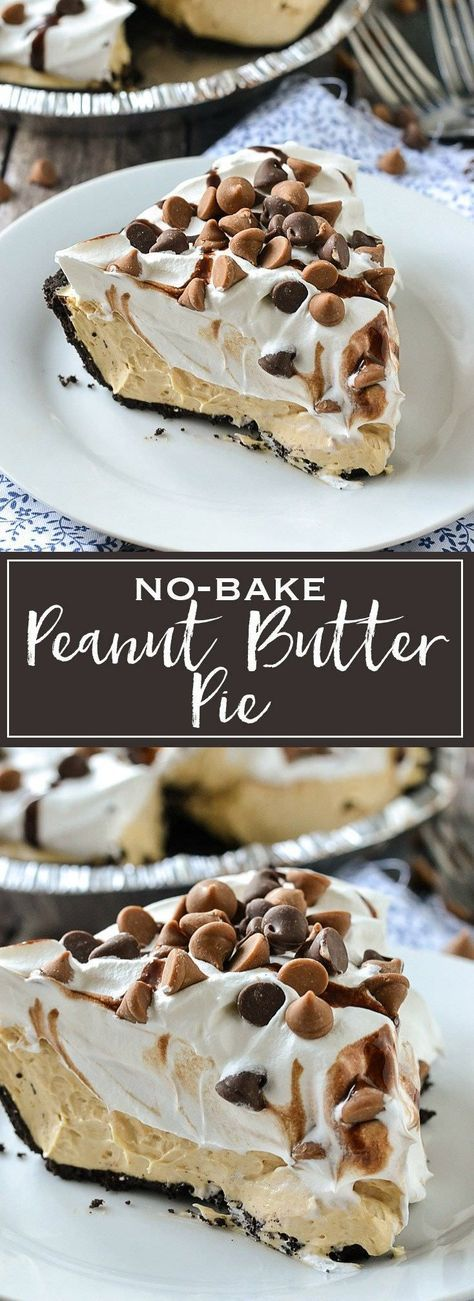 No-Bake Peanut Butter Pie | Simply Delicious #familyrecipes #familyrecipesdinner #familyrecipebook #familyrecipeskidfriendly #familyrecipebookideas #FamilyRecipe #YummFamilyRecipe #RecipesFamily #food #foodphotography #foodrecipes #foodpackaging #foodtumblr #FoodLovinFamily #TheFoodTasters #FoodStorageOrganizer #FoodEnvy #FoodandFancies #drinks #drinkphotography #drinkrecipes #drinkpackaging #drinkaesthetic #DrinkCraftBeer #Drinkteaandread #RecipesFood&Drink #DrinkRecipes