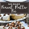 No-Bake Peanut Butter Pie | Simply Delicious
