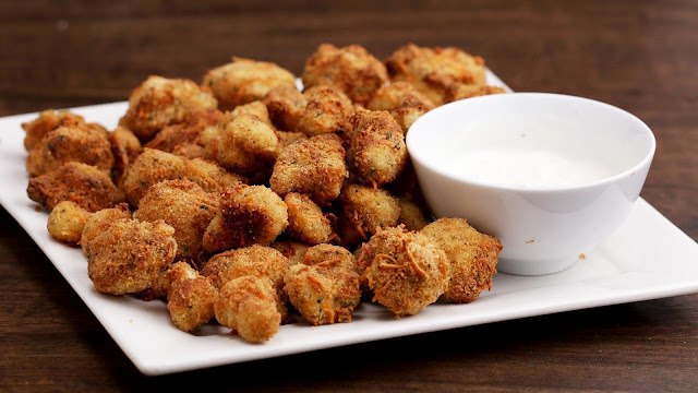 The Best Cheddar Parmesan Cauliflower Bites Recipe