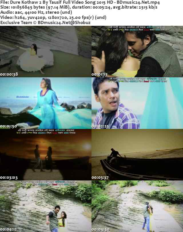 Dure Kothaw 2,Dure Kothaw 2 (2015),Dure Kothaw 2 Full Vidoe Song Free Donwload,Dure Kothaw 2 By Tausif Full Video Song 2015,Dure Kothaw 2 By Tausif Eid Song,