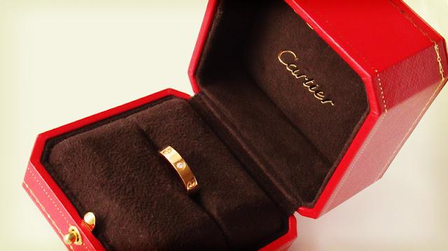 カルティエのリング