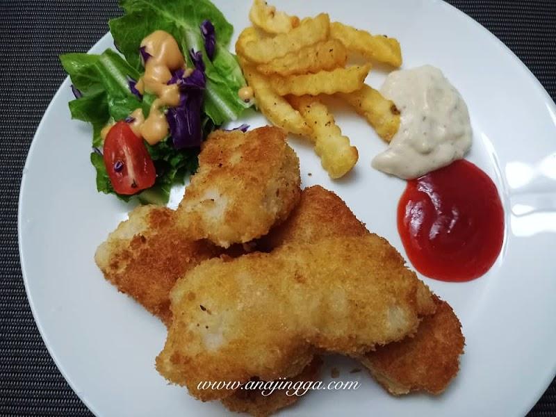Resepi Fish & Chip Ikan Dory