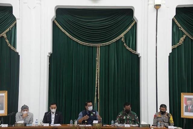 Gubernur Jabar  Paparkan Berbagai Program Inovasi Pangan Kepada Baleg  DPR RI