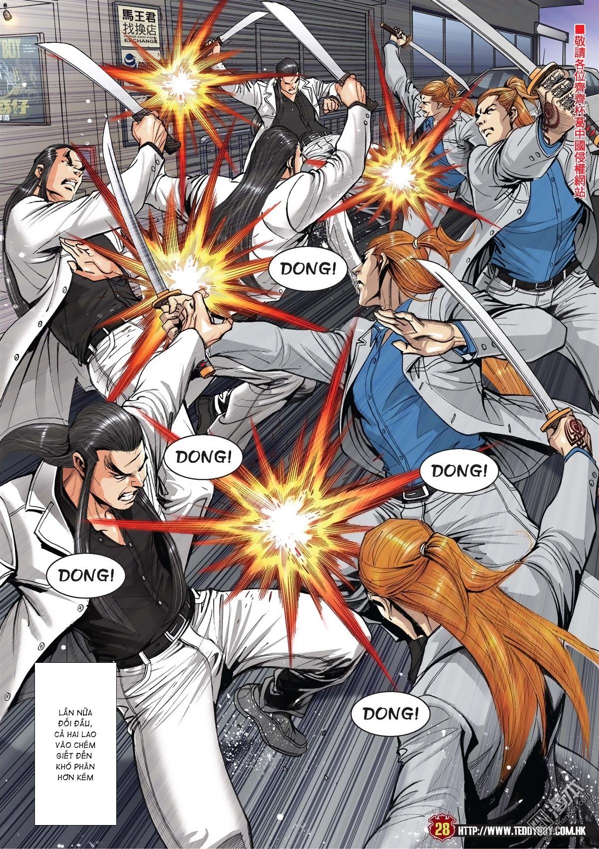 Người Trong Giang Hồ chapter 2015: tọa sơn hổ vs đại phạn trang 25
