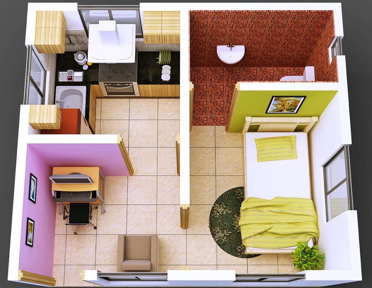 Foto Desain  Interior  Rumah Sederhana Minimalis  Terbaru