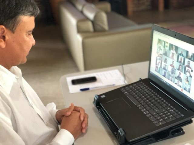 PARA CONTER A COVID-19: Governador Wellington Dias anuncia prorrogação de decreto e antecipação de mais um feriado no Piauí.