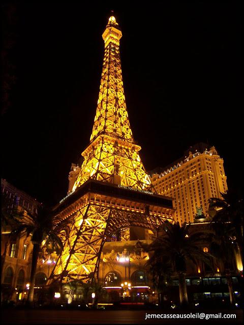 La Tour Eiffel à Las Vegas