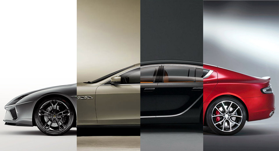 This Is What Happens When Supercar Manufacturers Make Four Door Sedans