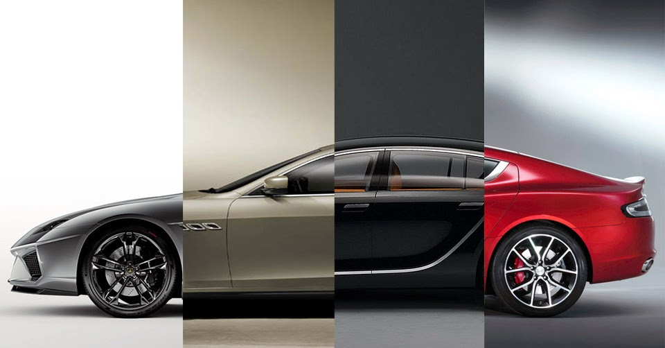 This Is What Happens When Supercar Manufacturers Make Four
