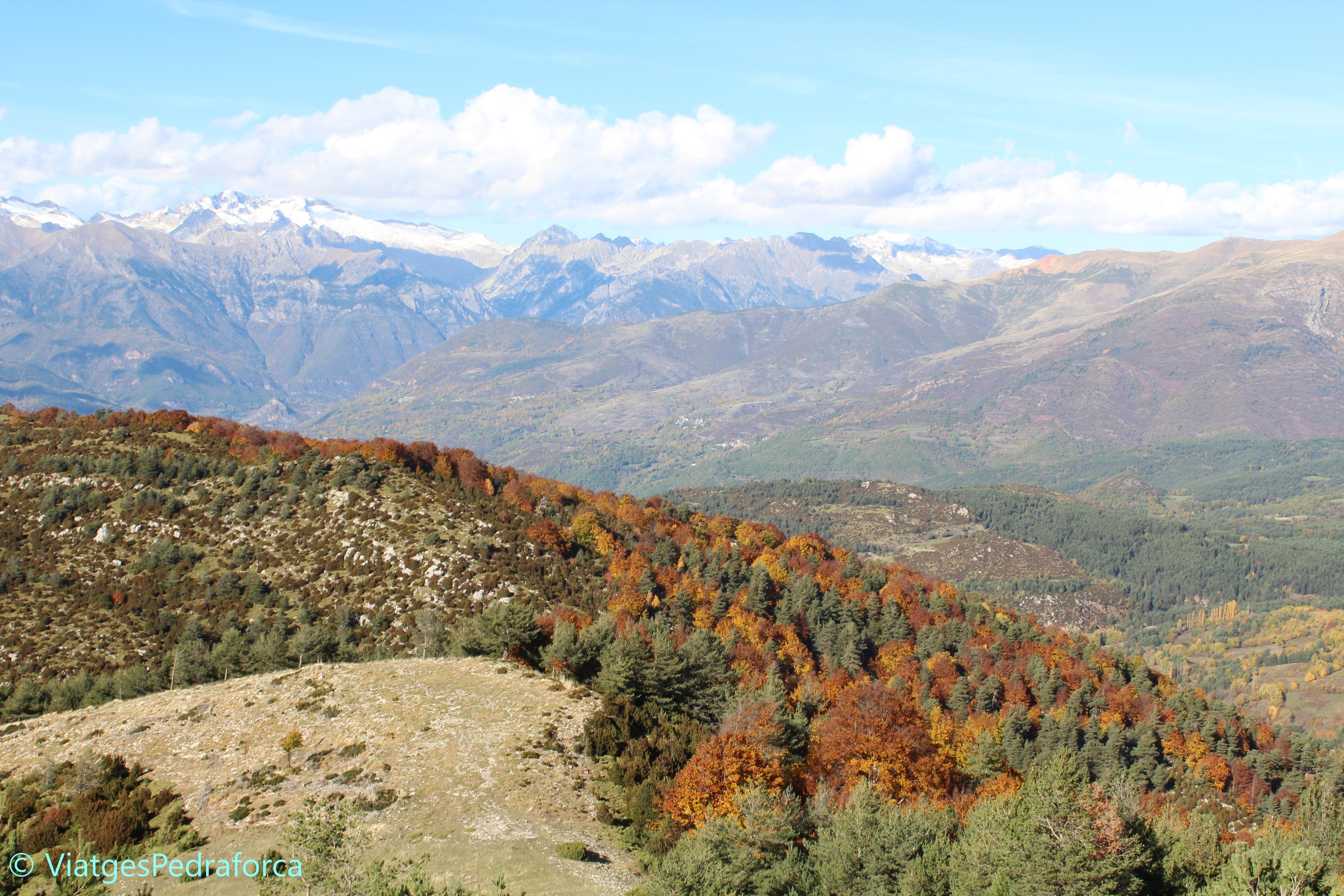 el Turbón, senderisme, natura, Pirineu Aragonès, Osca, ruta senderista