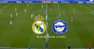 مباراة ريال مدريد والافيس بث مباشر
