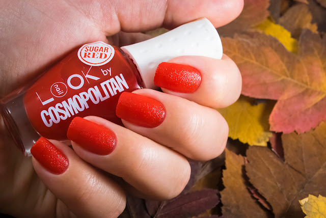 Naillook by Cosmopolitan 31442 Sugar Red