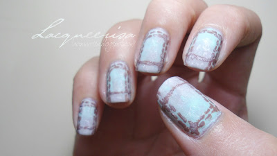 NOTD: Faded Mint Jeans Pocket Inspired