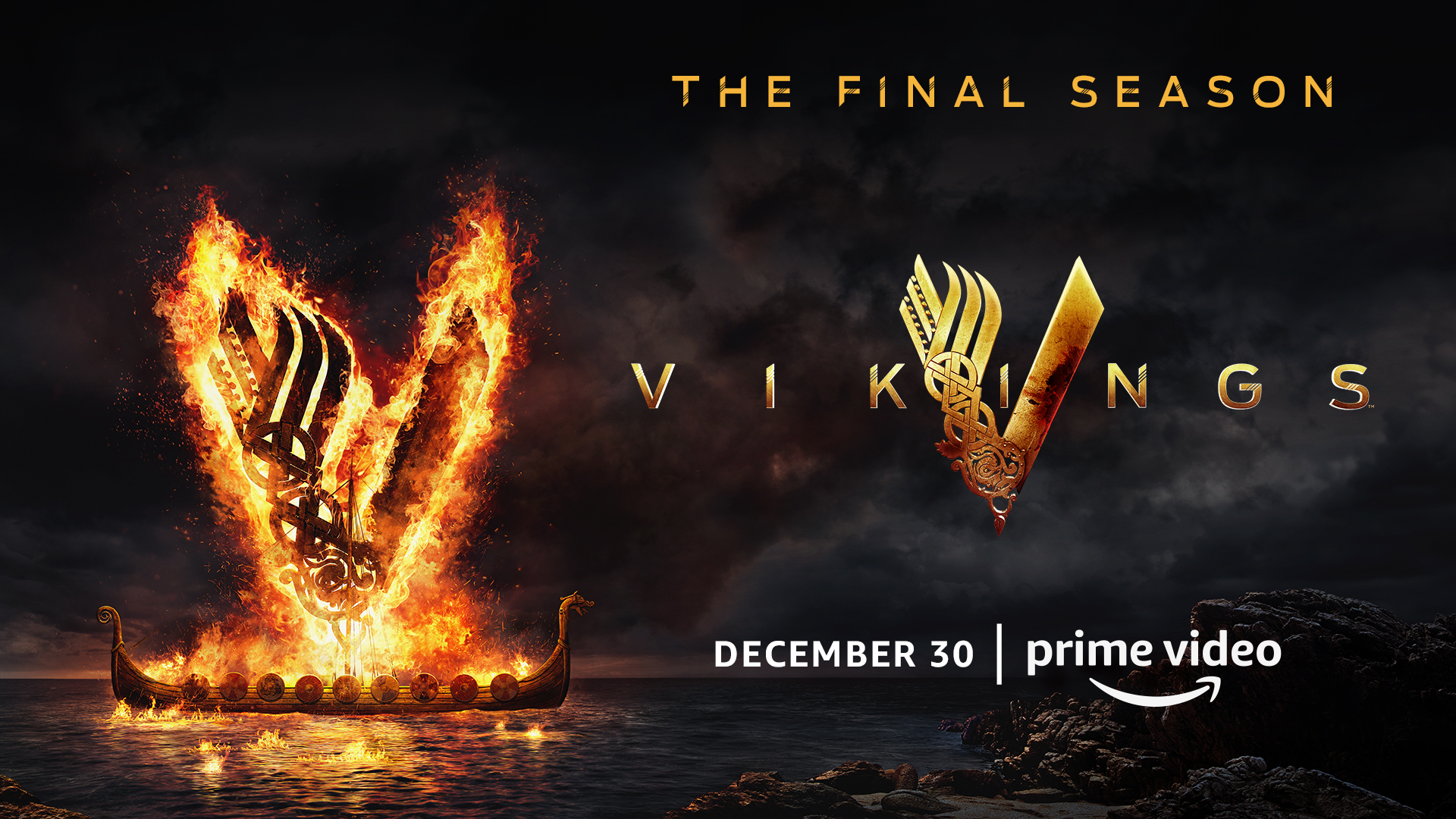 Vikings Season 6 Part 2 Key Art