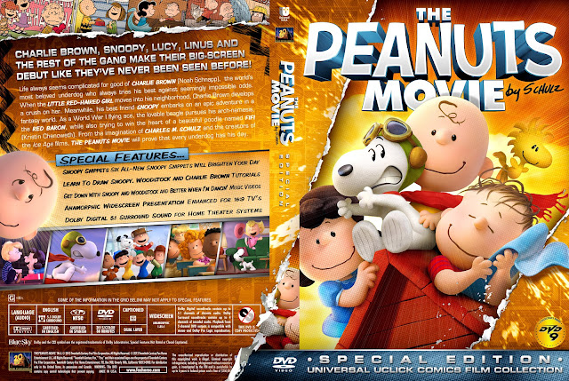 The Peanuts Movie DVD Cover