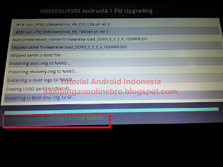 proses flash smartfren andromax tab 7.0 selesai