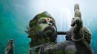 Hanuman ji statue mobile wallpaper