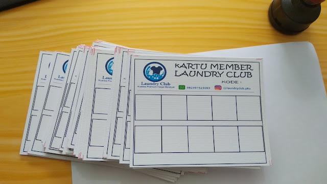 Kartu Member Laundry Club