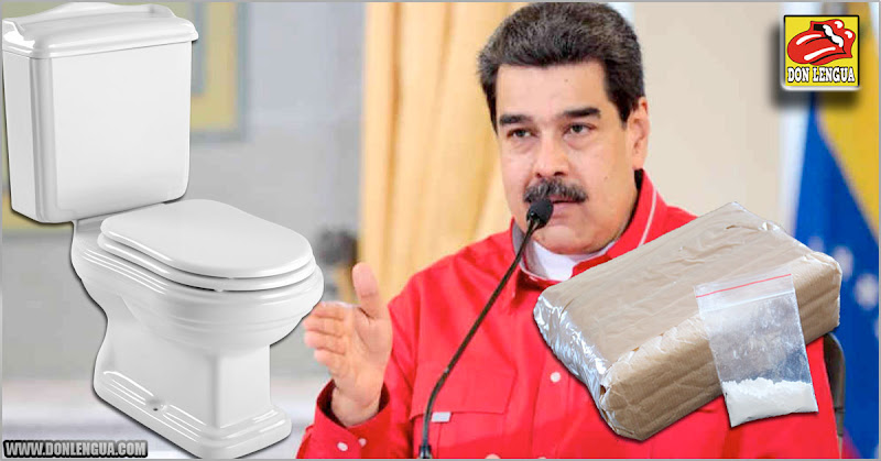 Lavar Baños es más digno que traficar Drogas como lo hace el Régimen de Maduro