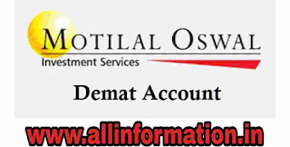 Motilal Oswal Demat and trending account Account