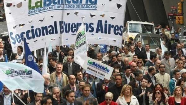 Nueva huelga bancaria en Argentina desde el 28 de octubre