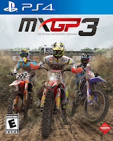 MXGP3: The Official Motocross Videogame Cover PS4